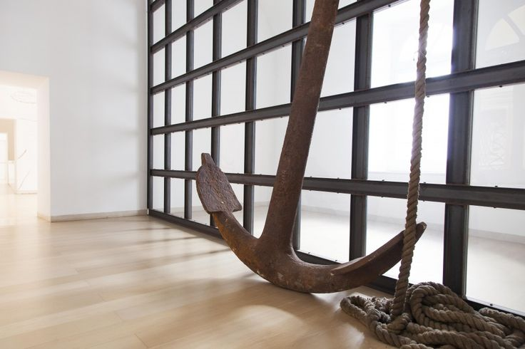 Jannis Kounellis, Senza titolo 2005. Museo Madre, Napoli. Photo (C) Amedeo Benestante