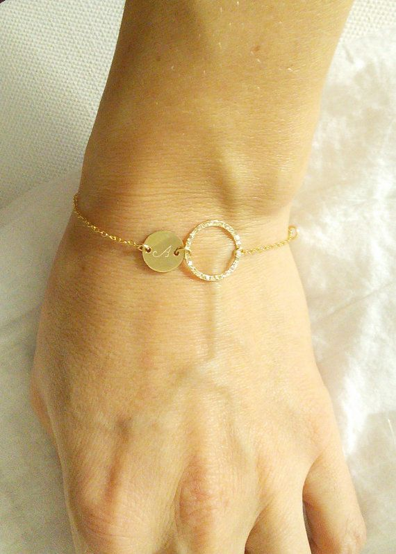 Personalized eternity bracelet Personalized by AngelicSpark, $28.00