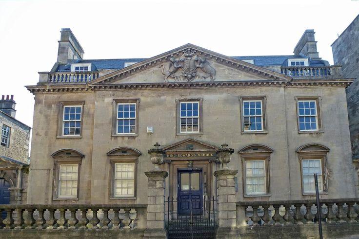The former King Edwards School, on Broad Street in Bath