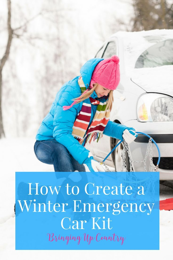 How to Create a Winter Emergency Car Kit