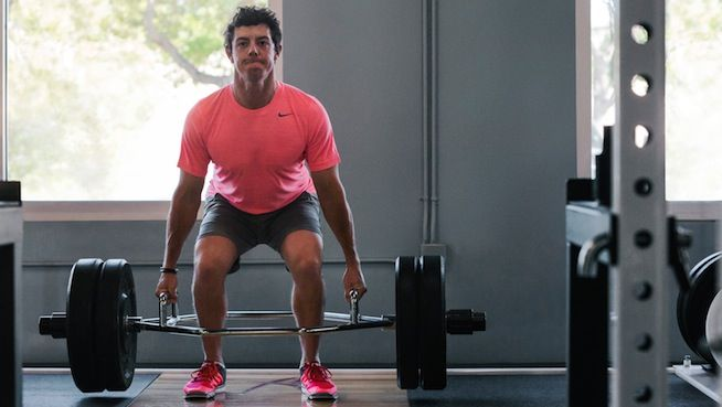 Rory McIlroy Trap Bar Deadlift - STACK