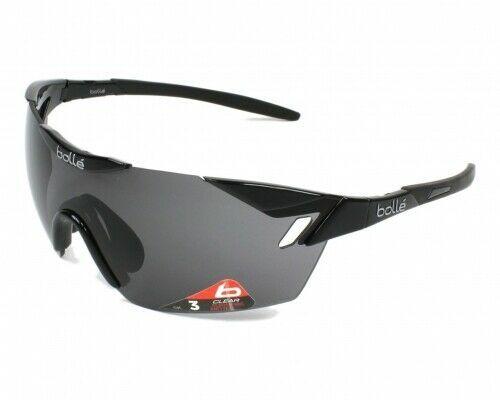 Bolle 6th Sense S Fahrradbrille M L Shiny Black Black