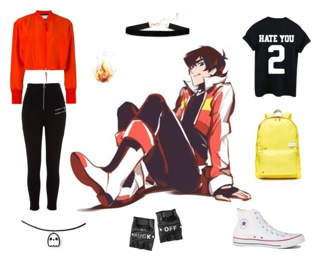 """""""Voltron inspired"""" by isabelle071102 on Polyvore featuring River Island, Converse, Funk Plus, State and Alexander Wang"""
