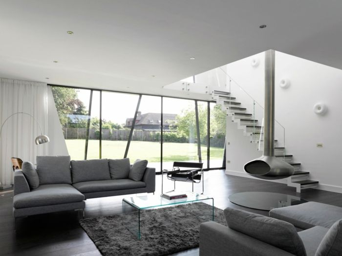 ▷ 1001 + ideas sobre decoración salón gris y blanco   PISO   Room ...