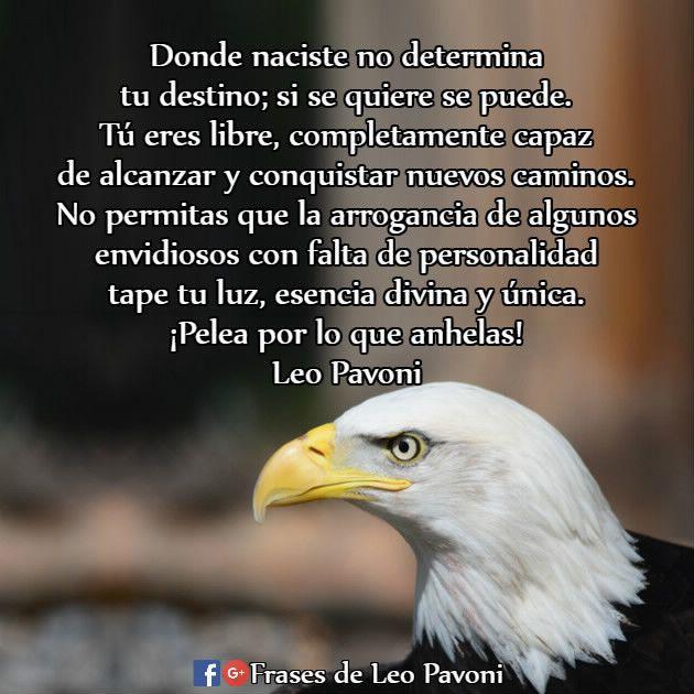 Donde naciste no determina tu destino; si se quiere se puede...