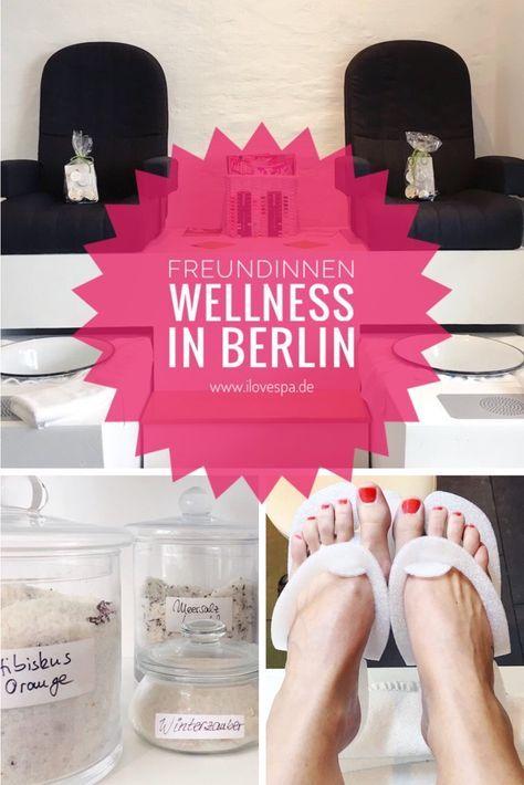 Freundinnen Wellness in Berlin - die besten Freundinnen Wellness Packages für jede Jahreszeit findet ihr in der gingerbar Berlin - auch super für JGA / Junggesellinnenabschied