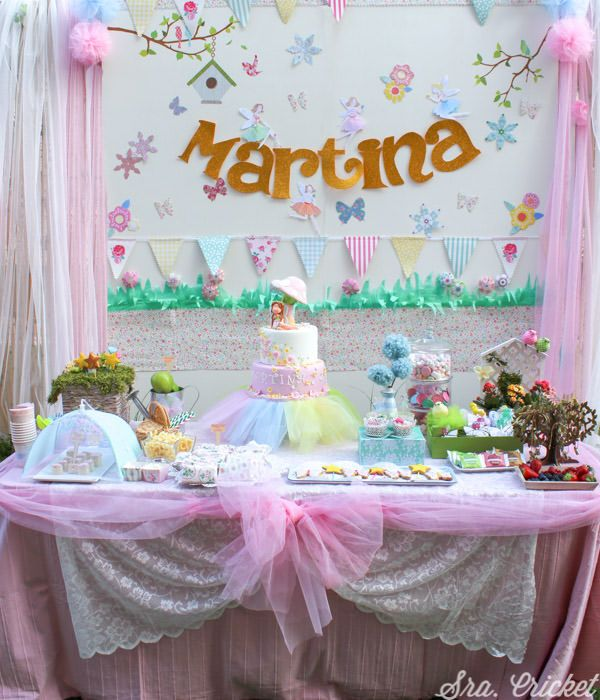 Ms de 25 ideas increbles sobre Cumpleaos de hadas en Pinterest