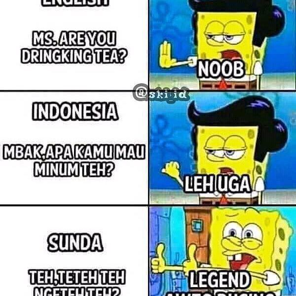 Bahasa Sunda Bikin Pusing Indovidgram Follow Lucu Love Lfl