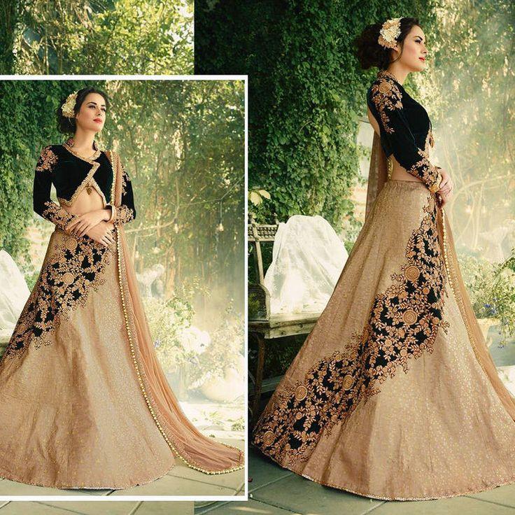 indian designer bollywood new ethnic wedding bridal wear pakistani eid lehengas #Handmade #LehengaCholi