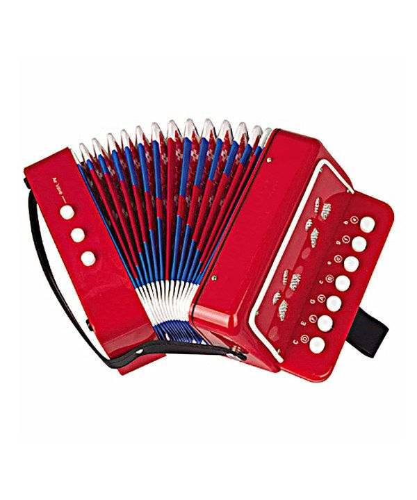TOY ACCORDION - Vintage Toy Accordion Really Plays in by