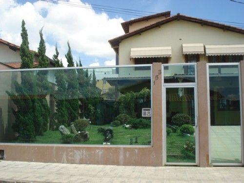 Modelos de Muros de Casas Residenciais: Home, Walls, House Blue-Clear, De Muros, A House, Of Vidro, Casa Residenciai, Casas Residenciais, Wall