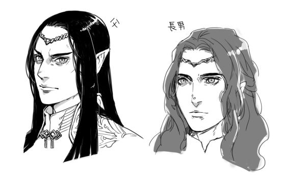 Fëanor and Maedhros