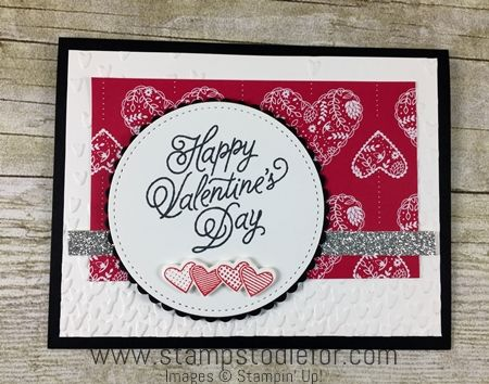 Sealed with Love stamp set and Sendig Love Paper by Stampin' Up! www.stampstodiefor.com