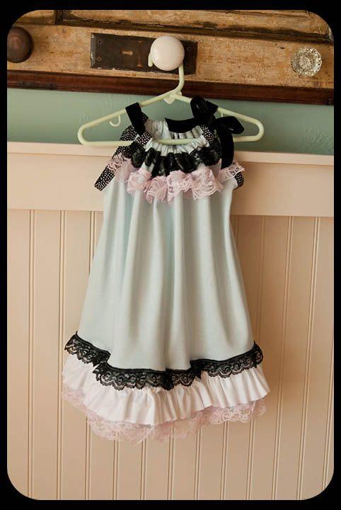 Vintage Pillowcase Dress.....LOVE!!