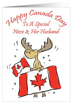 Canada day greeting cards beautiful