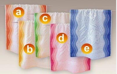 #Ręczniki_Greno Piękny gruby, dwustronny ręcznik z kolorowym motywem morskim.  Idealny na plaże, a także do łazienki.   Gramatura 380 g/m2     Ręcznik dostępny w kolorach i rozmiarach wykazanych poniżej.  kasandra.com.pl