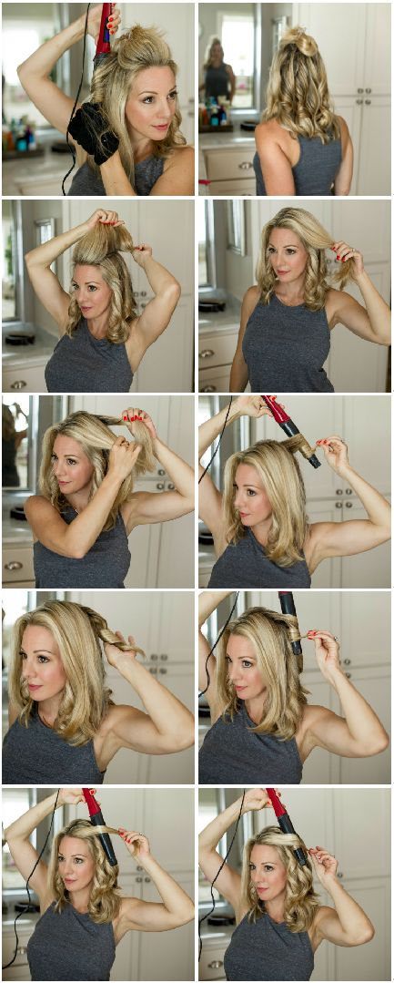 I am so happy to finally have my hair curling tutorial ready for you today! Y'all are so sweet and know how to make a girl feel good about her hair and this is one of the biggest requests I get- to show you how I do mine. All you need is a 1-1/2 inchcurling wandto achieve loose, wavy curls and I'll show you how to use it with a step-by-step pictorial below.But first, let's start with the hair products. I sometimes switch up shampoos, but I really like Biolage Color Last since I get h...