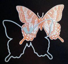 Garden Butterfly - Dies By Dave