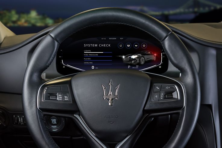 QNX_2015_concept_car_Maserati_virtual_mechanic | by QNX Software Systems