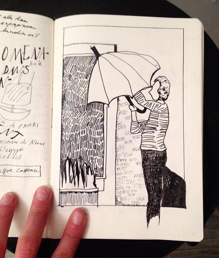 umbrella sketch
