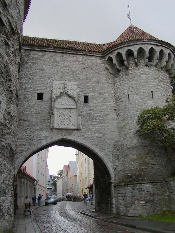 Tallinn's medieval Old Town is in the list of UNESCO World Heritage Sites. Description from pinterest.com. I searched for this on bing.com/images
