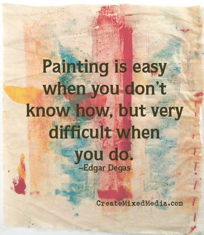 Anyone else have this problem? #artquotes #creativityquotes