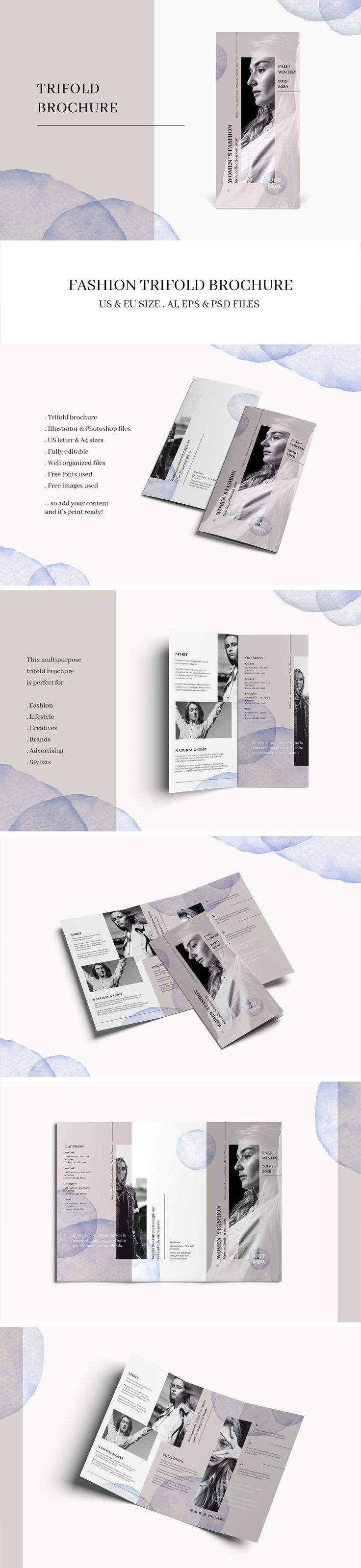 Brochures can still be relevant in this day and age. From fashion models to product launches, a print pamphlet can sometimes mean more