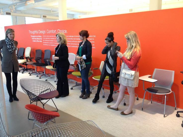 ATC INDS Students Enjoyed A Tour Of The Knoll Showroom In Atlanta With Jenai Taylor