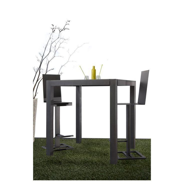 table haute exterieur 13 table mange debout. Black Bedroom Furniture Sets. Home Design Ideas