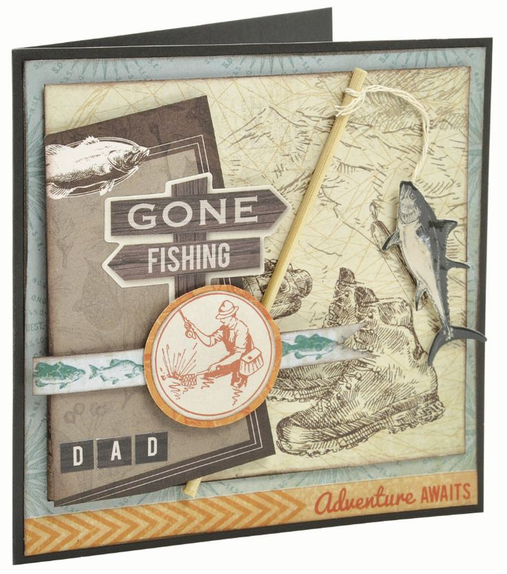 Outdoor Trail Fishing Card