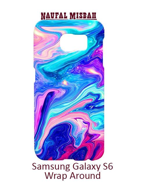 Watercolor Rainbow Paint Samsung Galaxy S6 Case Cover