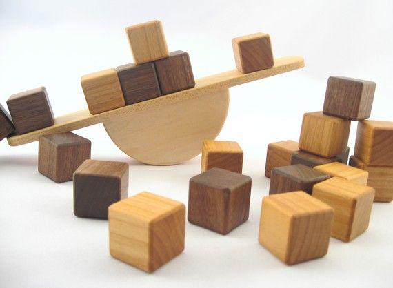 + balancing wooden blocks +