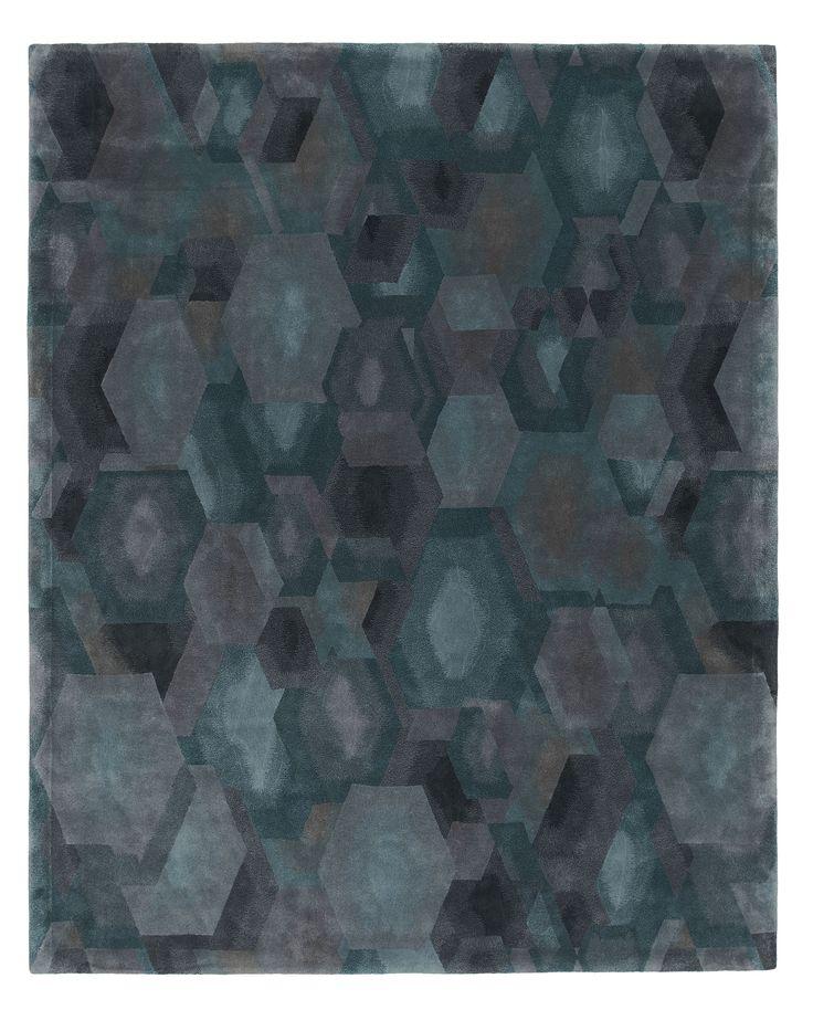 Sublime Mineral I, Scenematic Collection by André Fu #AndreFu #AndreFuLiving #AFL #Architect #Lifestyle #Texture #City #Modern #Interior #Geometric #Blue #Graphic #UrbanNightfall #Luxury #Rug #Carpet #Tapis #Design #InteriorDesign #Deco #Art #Bespoke #Custom #Unique #HandTuft #HandMade #Artisans #RugsCreatedByUs #TaiPing #HouseOfTaiPing