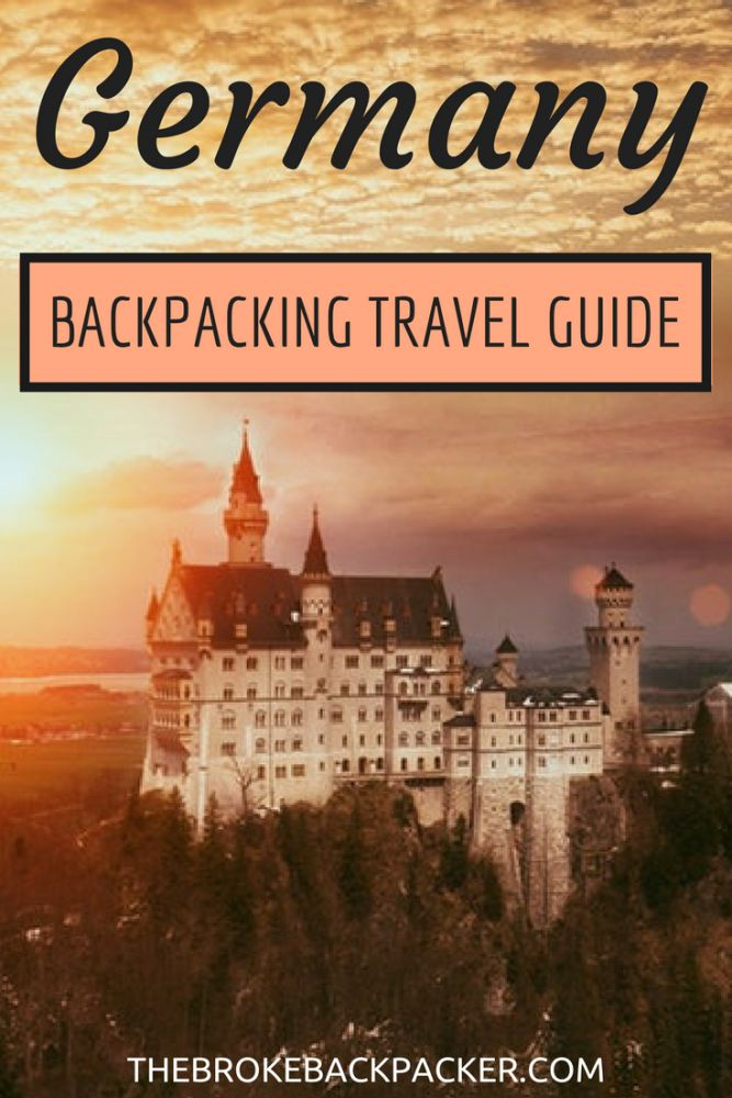 backpacking germany