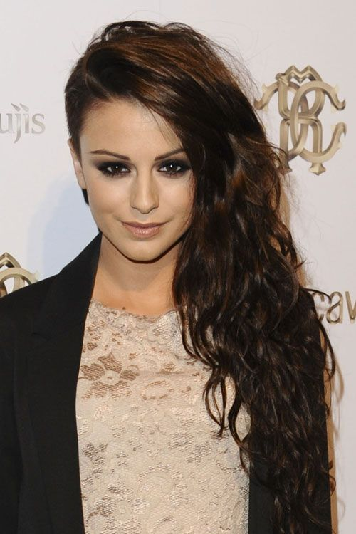 cher lloyd curly dark brown side