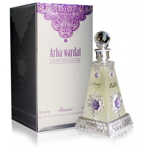Rasasi – Arba Wardat 30 ml , perfumy arabskie, perfumy orientalne, perfumy niszowe