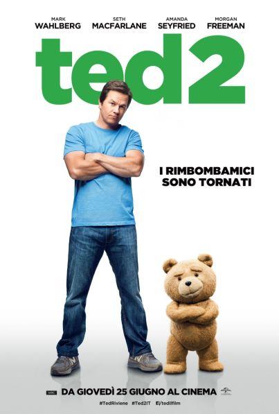 Ted 2 (film, commedia) diretto da Seth MacFarlane ... al #cinema dal 25 giugno 2015 ... #film #trailer