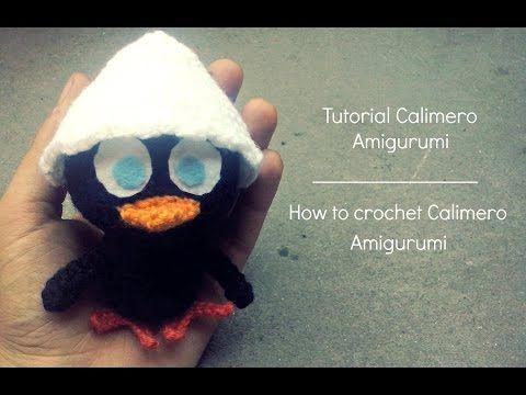 Tutorial Calimero Amigurumi | How to crochet Calimero Amigurumi - YouTube