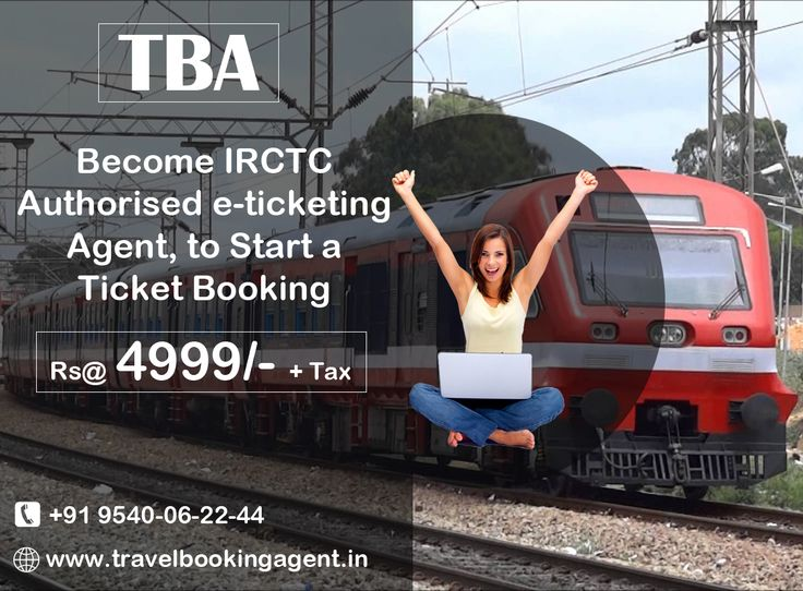 Build your own business and be your own boss! We are providing opportunity to become indian railway authorised e-ticketing agent, to start a ticket booking. kNOW MORE VISIT : http://www.travelbookingagent.in/