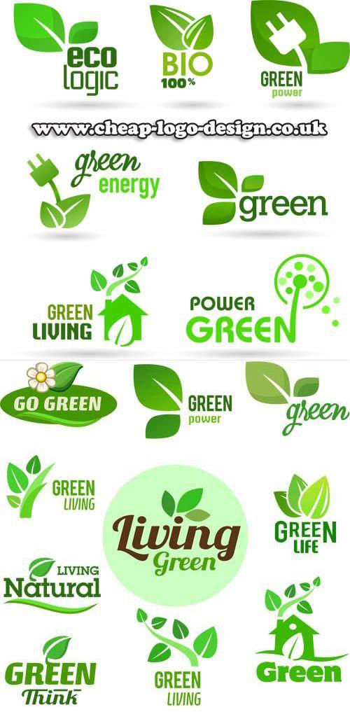 eco green logo design ideas