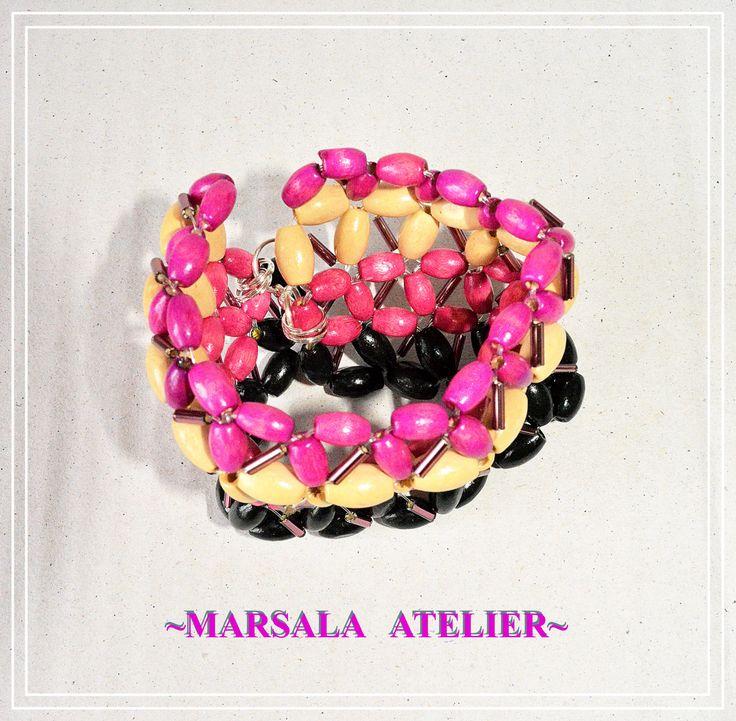 Marsala Tropical Bracelet