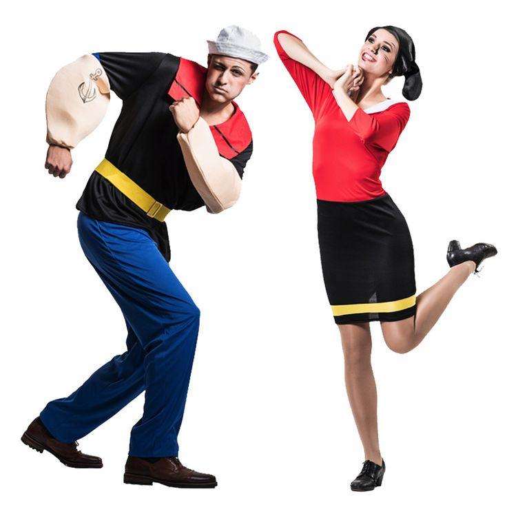 17 meilleures id es propos de popeye kost m sur pinterest costumes de couple pour halloween. Black Bedroom Furniture Sets. Home Design Ideas