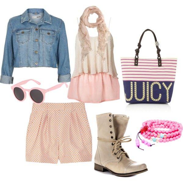 An idea of pink by lorenza-bompani on Polyvore#abiti estivi#summer look