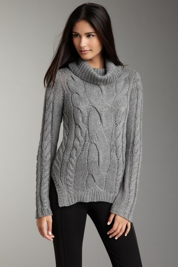 Romeo & Juliet Couture Cable Knit Sweater