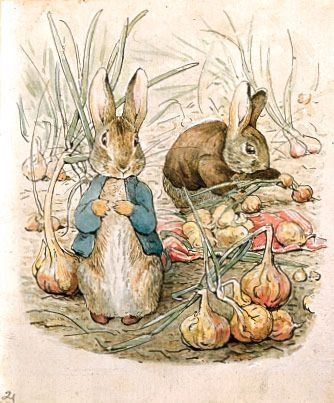 The nostalgic part of me kind of really wants a Peter Rabbit tattoo.