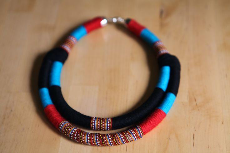 Tribal boho ethnic necklace