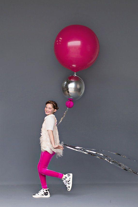 Balloon Set: Wild Berry by dropitMODERN on Etsy