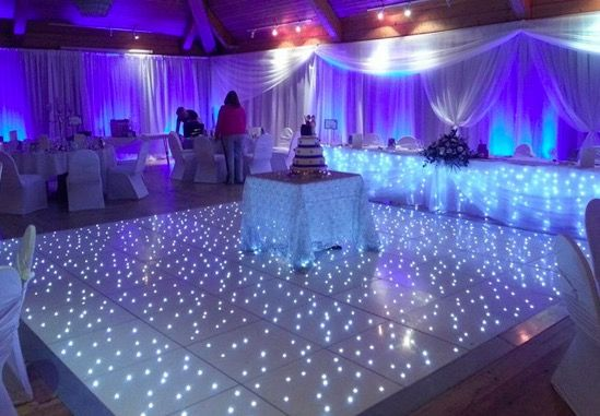 Starlit Led Dance Floor is the lighting equipment that planners use that ensures that your party becomes a hit among the guest. Will you be willing to go and enjoy at party where the lights are either too bright or too dull or where the dance floor lights are just too boring? No. Thus it is important that the light decor is just right for the event.