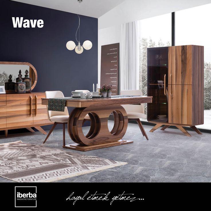 Wave Yemek Odası ile yemek keyfinizin bitmesini istemeyeceksiniz. #iberbamobilya #mobilya #furniture #ahşap #wooden #yatakodasi #bedroom #yemekodasi #diningroom #ünite #tvwallunits #yatak #bed #gardrop #wardrobe #masa #table #sandalye #chair #konsol #console #dekor #decor #dekorasyon #decoration #koltuk #armchair #kanepe #sofa #evdekorasyonu #homedecoration #homesweethome #içmimar #icmimar #evim #home