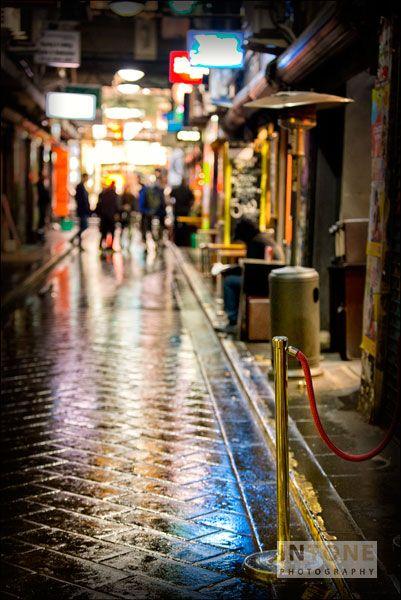 Rainy days, Melbourne